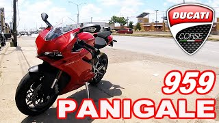 4. 2018 DUCATI PANIGALE 959 TEST RIDE!!!
