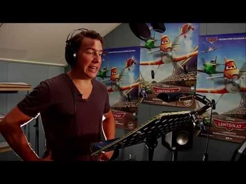 Lentsikat -- Aku Hirviniemi kertoo animaation dubbaamisesta - Elokuvateattereissa 27.9. tekijä: Disney Suomi