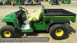 9. 2016 John Deere TS 4X2 Minier, Springfield, Bloomington, and Peoria, IL Call_Phil_@_888-850-4249