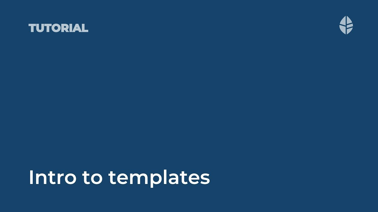 Intro to templates in ThoughtFarmer 8 Video Thumbnail