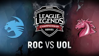 Video ROC vs. UOL - Week 6 Day 2 | EU LCS Spring Split |  Team Roccat vs. Unicorns of Love (2018) MP3, 3GP, MP4, WEBM, AVI, FLV Juni 2018
