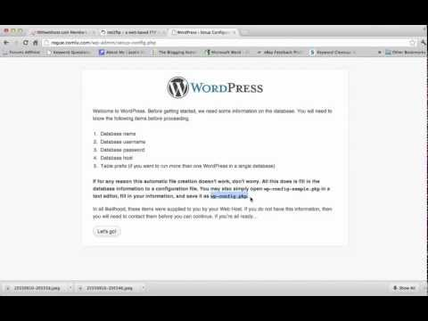 Try to solve WordPress installation Problem [Final Solved]