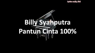 Download Lagu Billy Syahputra - Pantun Cinta 100%(LYRICS) Mp3