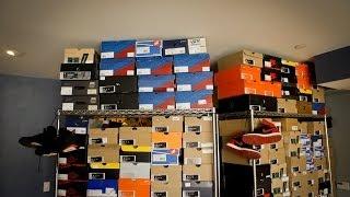 """A """"Sneak Peek"""" Inside Jon Hundreds' Sneaker Rooms, Part 1"""