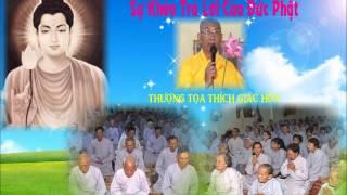 Bài Giảng: Sự Khéo Trả Lời Của Đức Phật - Thượng Tọa Thích Giác Hóa