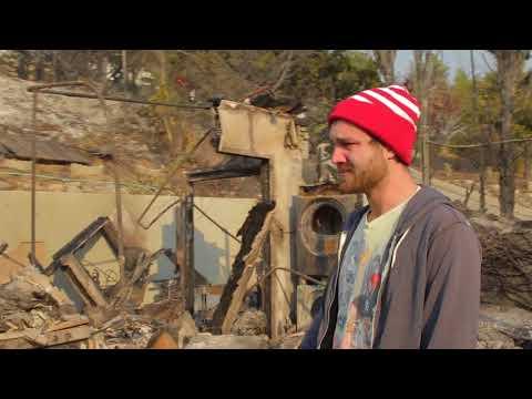 William Osman's House burned down.