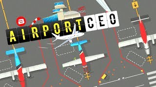 AIRPORT CEO Gameplay - RUNWAY, TAXIWAY & SERVICES Alpha Simulator/Strategy/Tycoon/Management #2