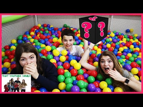 Last To Leave Ball Pit Challenge With Temptations / That Youtub3 Family I Family Channel
