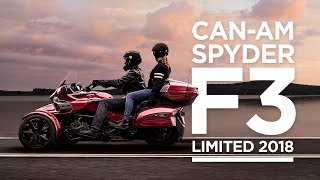 8. Can-Am Spyder F3 Limited 2018