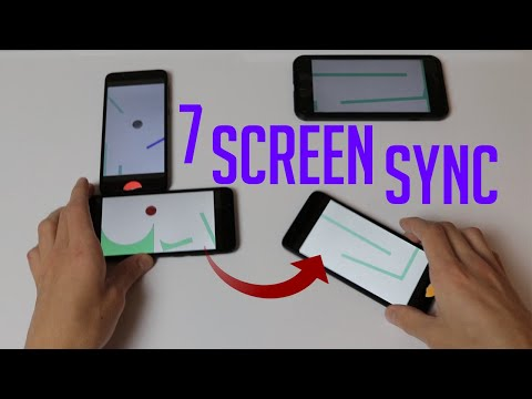 Synchronized Screen Juggling