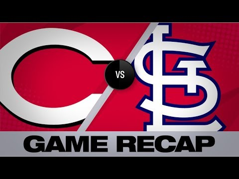 Video: Cards' offense rolls past Reds in 10-6 win | Reds-Cardinals Game Highlights 8/31/19