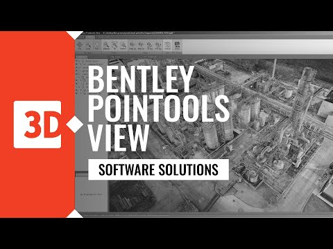 BENTLEY POINTOOLS VIEW - industrial example