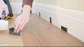How To Fit Luxury Vinyl Click Flooring