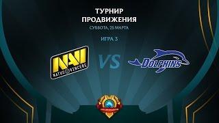 NaVi vs Dolphins, game 3