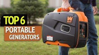 8. TOP 6: Best Portable Generators 2018
