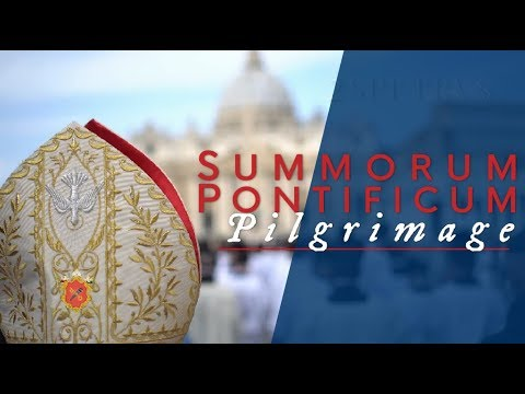 The People of Summorum Pontificum - 2017 - Latin Mass Pilgrimage in Rome