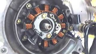 7. Replacing crank bearings on a kymco Super9 1 of 3