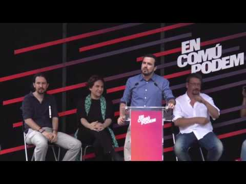 Intervención completa de Alberto Garzón en Barcelona #Somriu26J