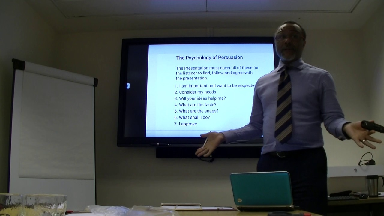 Presentation Skills - Poor Presentation Example - Manic Presenter