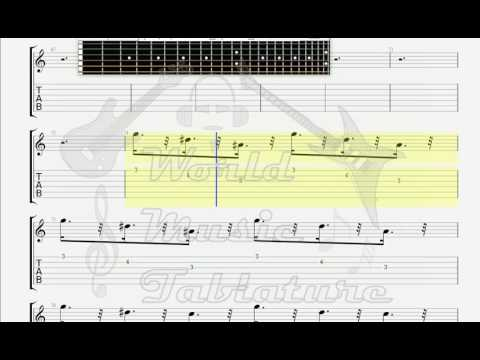 Cranberries   When You 're Gone GUITAR TAB