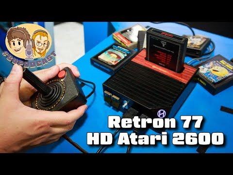 Retron 77 (HD Atari 2600) by Hyperkin - #CUPodcast