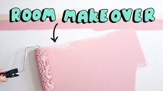 Huge Bedroom Makeover 🎨  FULL ROOM TRANSFORMATION!
