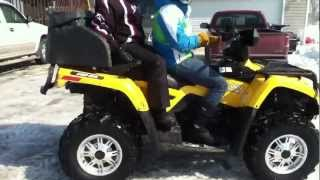 8. 2013 Can Am Outlander 400!