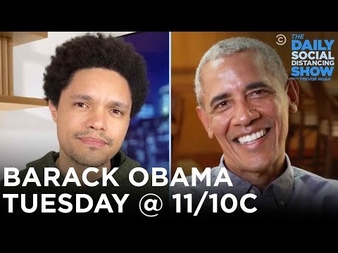 TONIGHT @ 11/10c: President Obama on Roasting Trump, Private Life, and His Legacy   The Daily Show