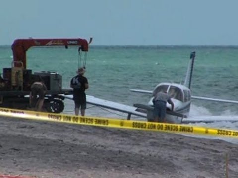 plane - Law enforcement officials in Florida say a 9-year-old girl has died from injuries suffered when she was hit by a plane that crash-landed on the beach where she was walking with her father....