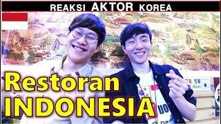 Video REAKSI AKTOR KOREA Pertama kali ke RESTORAN INDONESIA MP3, 3GP, MP4, WEBM, AVI, FLV Agustus 2018