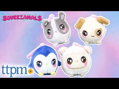 Squeezamals Keychain Plushes from Beverly Hills Teddy Bear Company