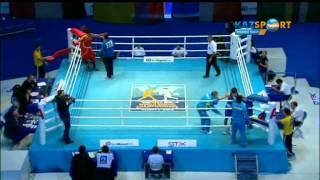 Бокстан ӘЧ. Данияр Елеусінов (69 кг) Винченцо Манджиакапреге қарсы