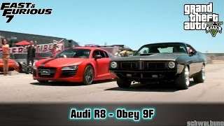 Nonton GTA 5 Fast & Furious 7 - Audi R8 (Obey 9F) Car Build #17 Film Subtitle Indonesia Streaming Movie Download