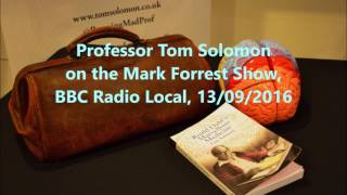 Tom talks Dahl and book on Mark Forrest Show, 13/09/2016