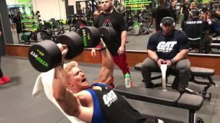 CHEST DAY WITH BIG RAMY! Video