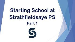 Strathfieldsaye PS Foundation Info Session Part 1