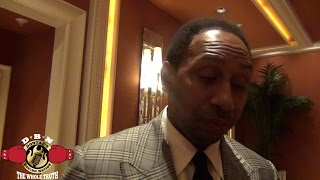 STEPHEN A SMITH OPENS UP ON SKIP BAYLESS RIVALRY AND REVEALS WHY BAYLESS TRULY LEFT ESPN