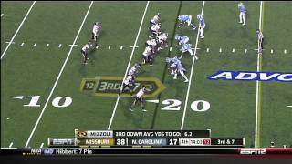 Zach Brown vs Missouri 2011