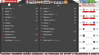 FLUMINENSE X CORINTHIANS - AO VIVO PELO BRASILEIRÃO 2017 COM PARCIAIS DO CARTOLA FC NA TELA! NARRAÇÃO COMPLETA! 🏆 INSCREVA-SE AQUI NO CANAL➡️https://goo.gl/2...