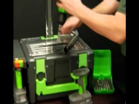 POWER8 workshop®: banco da lavoro ultra compatto con 8 funzioni integrate!