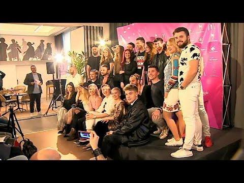 Lissabon bereitet sich auf den Eurovision Song Contes ...
