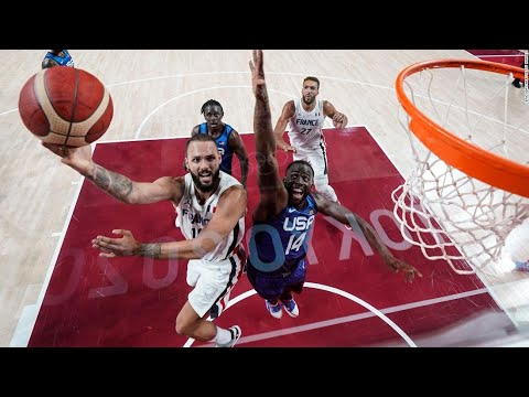 US men's basketball team defeated by France for first Olympic loss since
