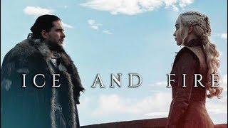 Parallels between Jon Snow and Daenerys Targaryen. based off of https://i.imgur.com/VdVw7Vb.jpg follow me...