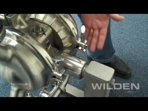 Wilden saniflo air operated double diaphragm pumps at phoenix pumps youtube video ccuart Choice Image