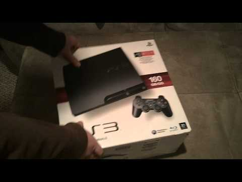 160GB - The Unboxing of the New PS3 160gb Slim Console! My 80gb Original PS3 Finally Died :_( so I needed to get a new Playstation. Go checkout the TheGameratorEh: h...
