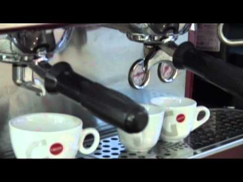 Gaggia Deco coffee machine demo