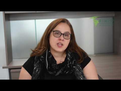 Celeste Molina, investigadora de la Oficina México. Reunión preparatoria GDR Marzo 2017.