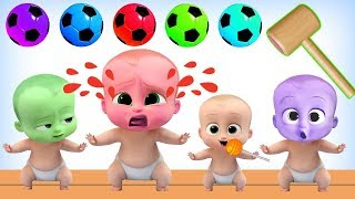 Video Learning Colors With Color Boss Baby Soccer Ball Wooden Hammer - Toy Kids Channel MP3, 3GP, MP4, WEBM, AVI, FLV Desember 2018