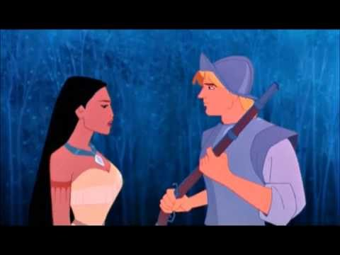 pocahontas - Voici L'air du vent chanté par la sublime