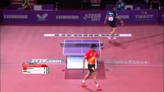 Table Tennis Highlights, Video - WTTC 2013 Highlights: Wang Hao vs Gao Ning (1/8 Final)